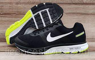 Чоловічі легкі літні кросівки Nike Air Max Shield Pegasus 30 Total Black