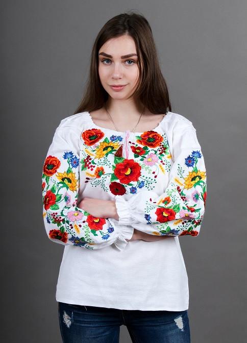 """Блуза - вышиванка """"Лето"""""""