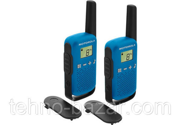 Рации Motorola TALKABOUT T42 TWIN PACK (комплект) Blue