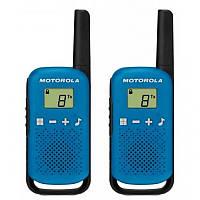 Рации Motorola TALKABOUT T42 TWIN PACK (комплект) Blue, фото 2