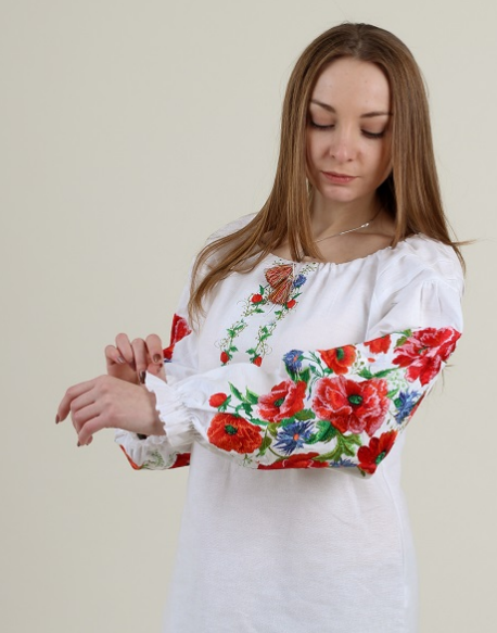 """Блуза - вышиванка """"Летняя ночь"""""""