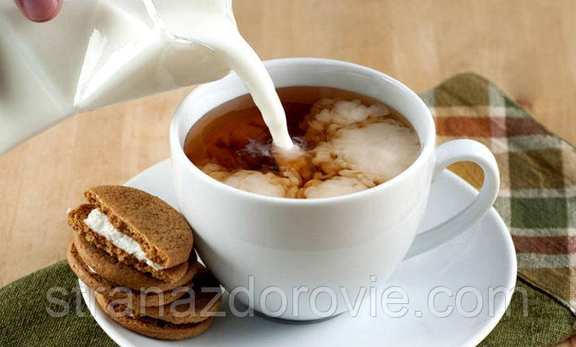 Лечимся чаем с молоком!