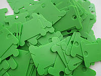 Шпули пластиковые цветные Салатовый
