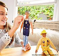 Кукла барби Кен баристаBarbie Careers Ken Barista Dol, фото 1