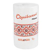 Полотенце бумажное Обухівський рушник вторичное волокно, 2 слоя, 100 отрывов