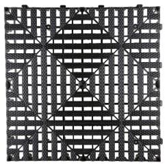 SGCB SGGD132 Floor Grid Black Черная решетка модульного пола 40х40 см