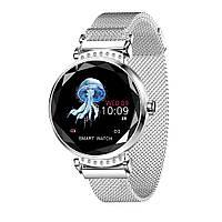 Розумні годинник Lemfo H2 з вимірюванням тиску (Сріблястий), фото 1