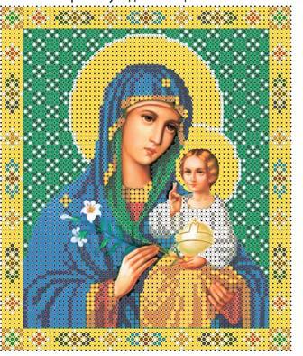 """Образ Божої матері """"Нев'янучий цвіт"""""""