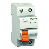 Выключатель дифференциальный (УЗО) ВД63 2П 25А 30МА Schneider Electric