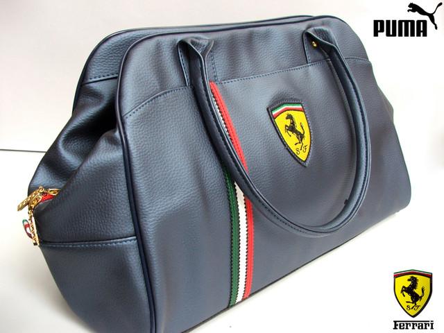 19003a88 спортивные сумки для фитнеса женские стильные сумки пума. сумка феррари puma  ferrari ...