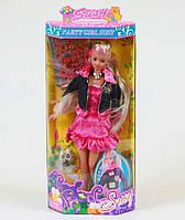 Кукла Сюзи Susy 2801 НА ВЕЧЕРИНКЕ  с аксесуарами.