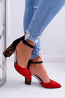 Женские туфли Ella red