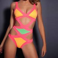 Яркий модный купальник   3 цвета, фото 1