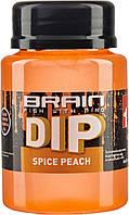 Діп для бойлов Brain F1 Spice Peach (персик/спеції) 100ml