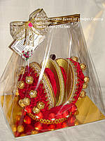 Корона из конфет