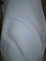Лён Турция (котон) Натуральный.Цвет голубой. Ширина  150см