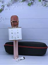 Караоке мікрофон Q7 , портативна колонка bluetooth+ Чохол