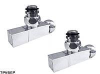 Вентиль запорный угловой MRV-S3/4' х 1/2' г/ш (к-т 2шт) -  Terminus