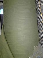 Лён Турция (котон) Натуральный.Цвет хаки. Ширина  150см