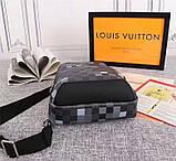 Сумка Луи Витон мужская, канва Damier Graphite Pixel, фото 3