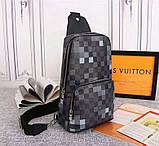Сумка Луи Витон мужская, канва Damier Graphite Pixel, фото 9