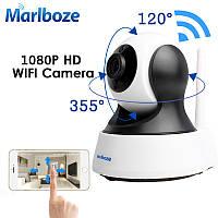 Видеоняня IP WIFI камера поворотная 1080P (full HD) 2 Mp Marlboze, фото 1