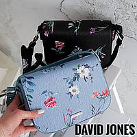 Клатч голубого цвета от David Jones Арт.01250, фото 1