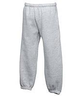 Детские легкие спортивные штаны KIDS LIGHTWEIGHT OPEN HEM JOG PANTS - 64-005-0 116 Светло-серые