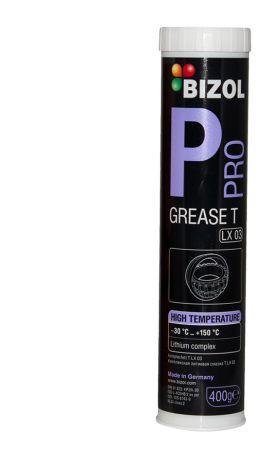 Термостойкая (до +150С) литиевая смазка для высоконагруженных подшипников 400 мл Bizol Pro Grease T LX 03 3320