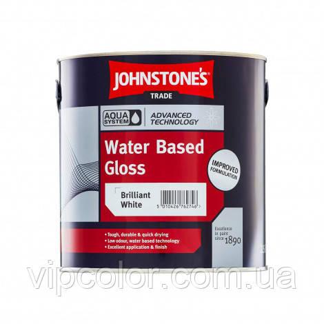 Johnstones Water Based Gloss 2,5 л Акриловая эмаль водонепроницаемый водный блеск