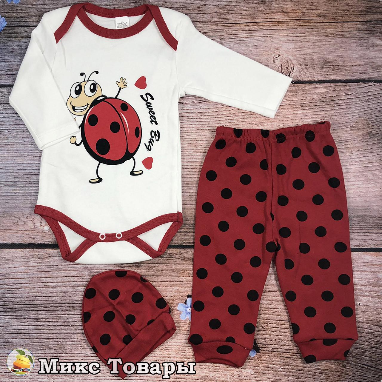 Боди со штанишками для малыша Размеры: 68,74,80 см (8494)