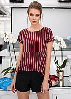 c09f78efa51 Женский костюм ассиметричная блуза и шорты 42