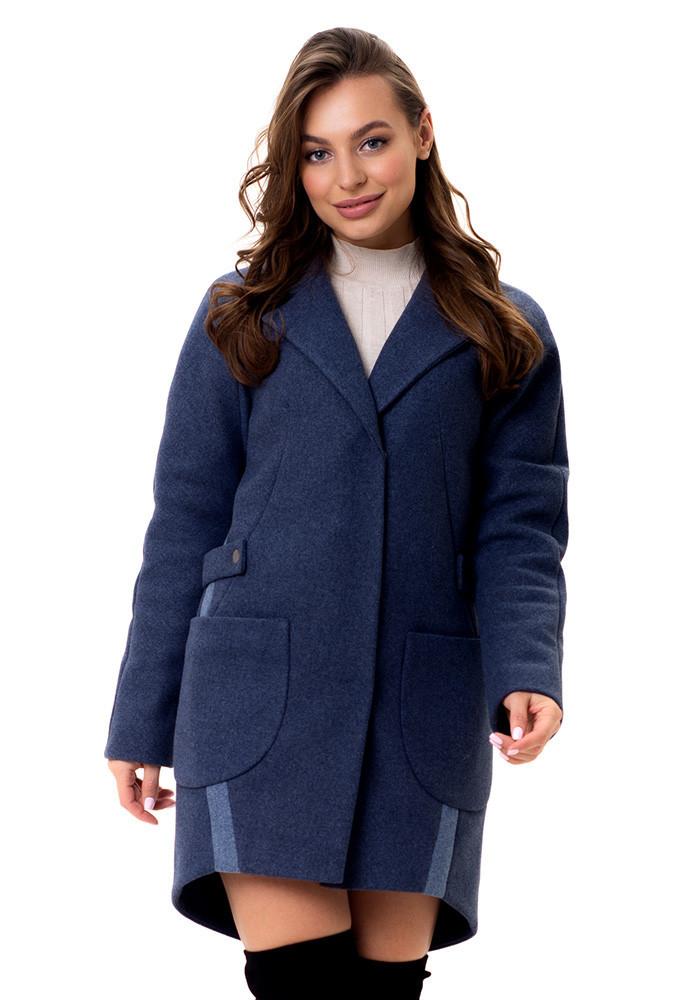 Женское оригинальное демисезонное  пальто Кира