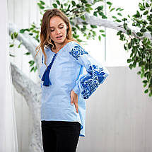 Блуза женская с вышивкой Жарптица, фото 2