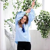 Блуза женская с вышивкой Жарптица, фото 3