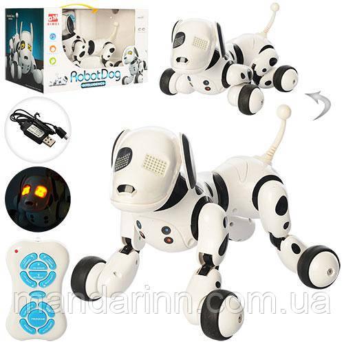 Собака-Робот на радиоуправлении с аккумулятором Smart Dog 9007A