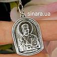 Серебряная ладанка Николай Чудотворец, фото 4