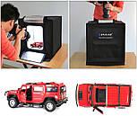 Лайткуб (фотобокс) для предметной съемки Puluz PU5040 40x40x40см, фото 4