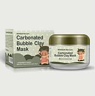 Кислородная маска Bioaqua Carbonated Bubble Clay Mask , пенная маска