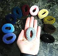 Резинка для волос диаметром 6 см широкая, 11 цветов, цена за 1 шт