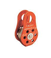 Блок-ролик Венто одинарный «Спасатель Люкс» дюраль (6031) - оранжевый