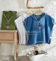 Детское полотенце с капюшоном (пончо) Ecocotton № 2112