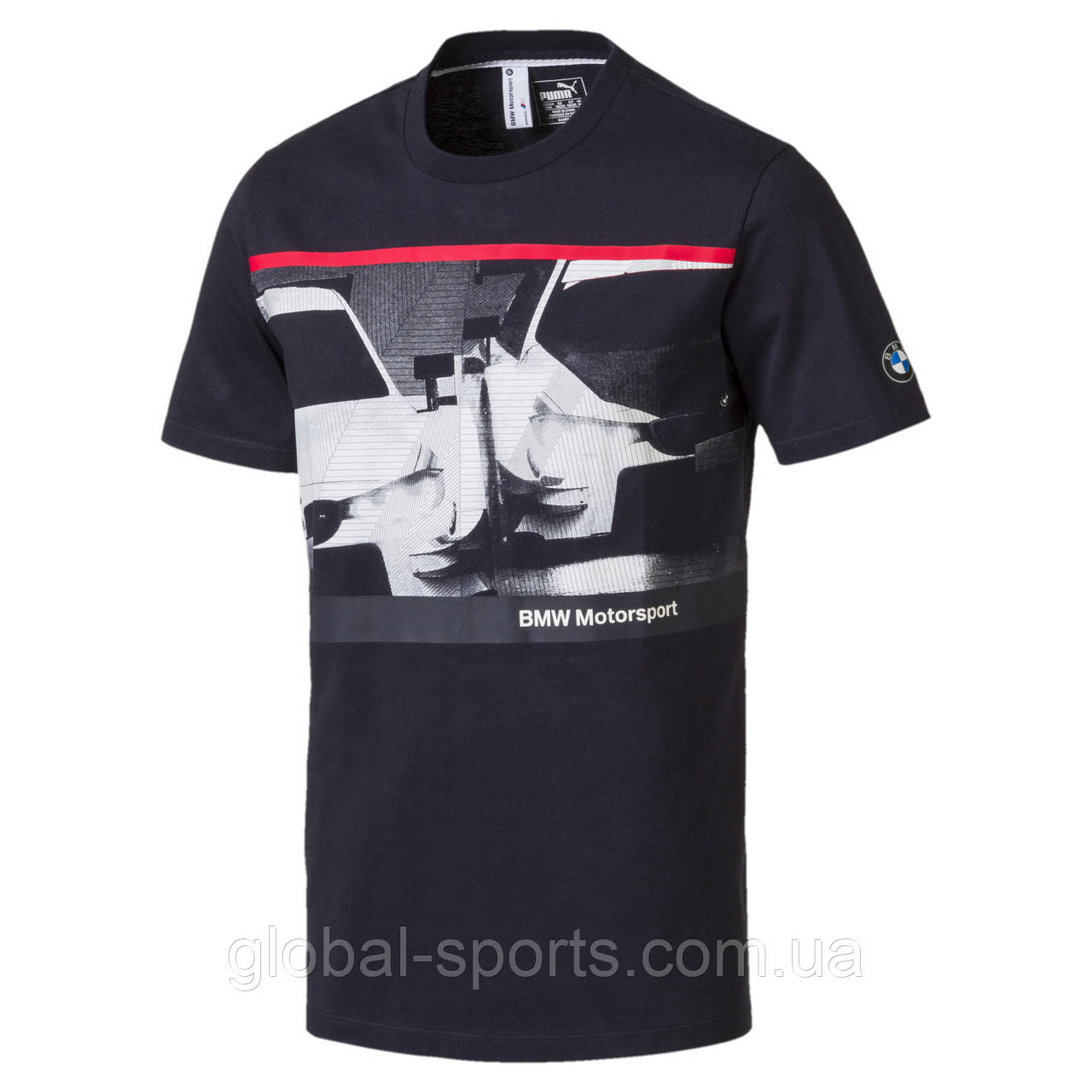 4614bb00e99c81 Футболка Puma BMW MS NightCat Tee (Артикул: 57526001): продажа, цена ...