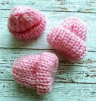 Міні шапочка, 4см. світло-рожева