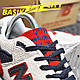 Мужские кроссовки New Balance 998 Gray Red, фото 2