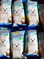 Бисквитный шоколадный кекс покритий глазурью из молочного шоколада с кокосовой стружкой Tio Cocobear 60gТурция