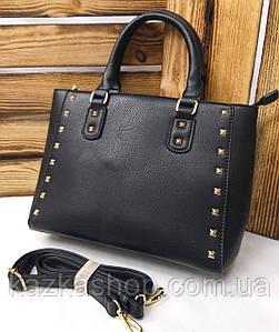 Маленькая стильная женская сумки из искусственной кожи на один отдела с короткой и длинной ручкой на плечо