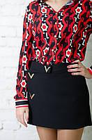 Женская  шелковая блуза