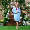 Вышитые платья в украинском стиле Жар Птица розовая, фото 5