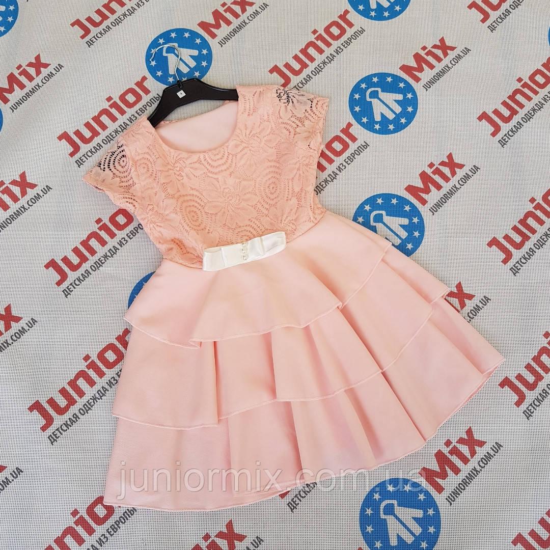 Детские нарядные платья доя девочек оптом  ITALY